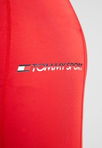 Tommy Sport - TAPE LEGGING - Tights - red - 6