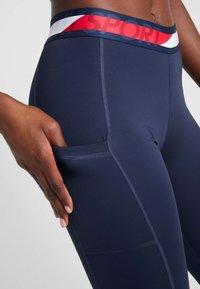 Tommy Sport - TAPE LEGGING - Collants - blue - 4