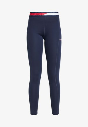 TAPE LEGGING - Trikoot - blue