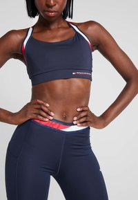 Tommy Sport - TAPE LEGGING - Tights - blue - 3