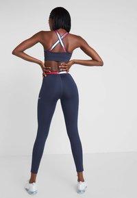 Tommy Sport - TAPE LEGGING - Collants - blue - 2