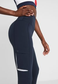 Tommy Sport - HIGHWAIST CARGO LEGGING - Tights - blue - 3