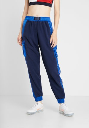 BLOCKED POLAR MIX PANT - Pantaloni sportivi - blue