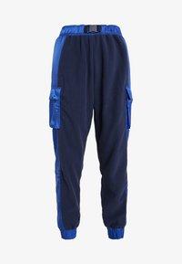 Tommy Sport - BLOCKED POLAR MIX PANT - Trainingsbroek - blue - 4