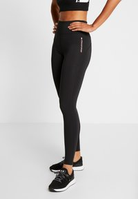 Tommy Sport - LEGGING FULL LENGTH - Legging - black - 0