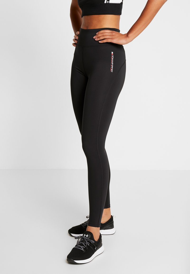 Tommy Sport - LEGGING FULL LENGTH - Legging - black
