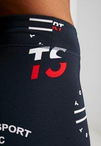 Tommy Sport - GRAPHIC LEGGING - Legging - blue - 4
