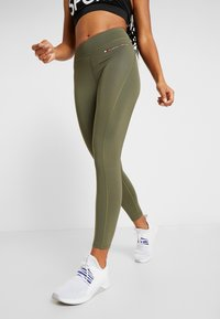 Tommy Sport - LEGGING 7/8 - Collant - green - 0