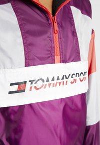 Tommy Sport - SHERPA LINED BLOCKED JACKET - Training jacket - purple - 7