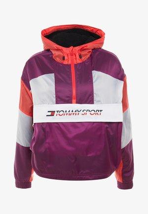 SHERPA LINED BLOCKED JACKET - Sportovní bunda - purple