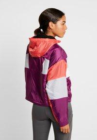 Tommy Sport - SHERPA LINED BLOCKED JACKET - Training jacket - purple - 2