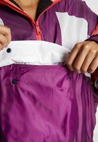 Tommy Sport - SHERPA LINED BLOCKED JACKET - Training jacket - purple - 4