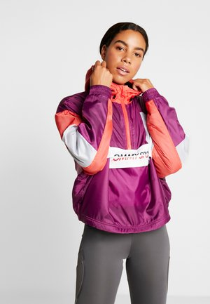 SHERPA LINED BLOCKED JACKET - Trainingsvest - purple
