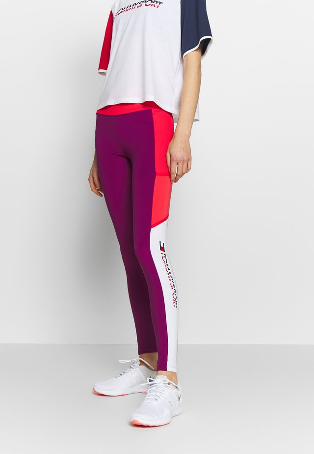 FULL LENGTH LEGGING - Legging - purple