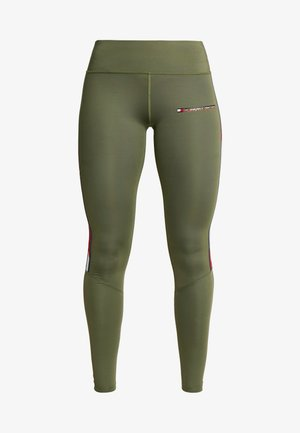LEGGING FULL LENGTH WITH TAPE - Legging - green