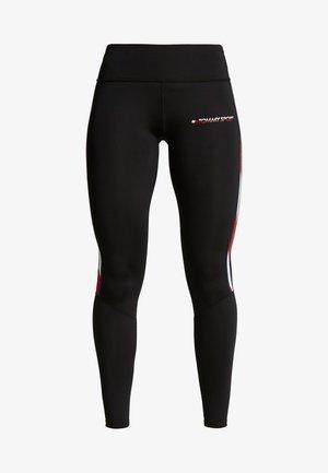 LEGGING FULL LENGTH WITH TAPE - Leggings - black