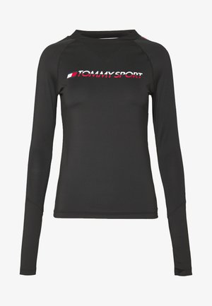 BASE LAYER WITH TAPE - Langarmshirt - black