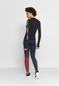 Tommy Sport - GLOW HIGHWAIST LEGGING - Legging - blue - 2