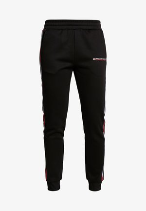 PANTS WITH FAST TAPE - Träningsbyxor - black