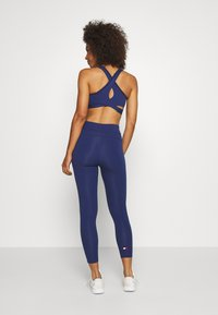 Tommy Sport - Leggings - blue