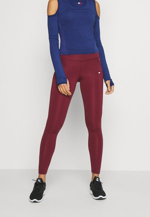 BUTT LIFT LEGGING - Legging - purple