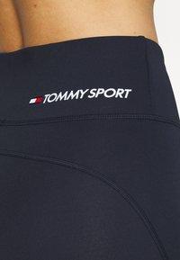 Tommy Sport - BUTT LIFT LEGGING - Leggings - blue - 5