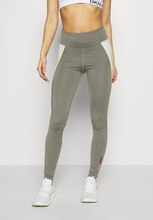 HIGHWAIST TRAINING LEGGING - Legging - grey