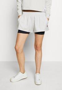 Tommy Sport - SHORT 2-IN-1 - Sports shorts - grey - 0