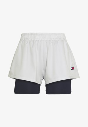 SHORT 2-IN-1 - Sports shorts - grey
