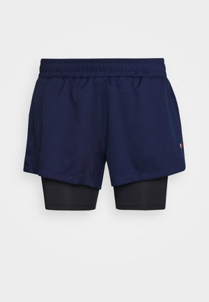 SHORT 2-IN-1 - Sports shorts - blue