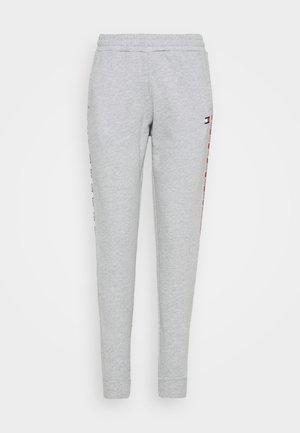 CUFFED PANT PIPING - Pantaloni sportivi - grey heather