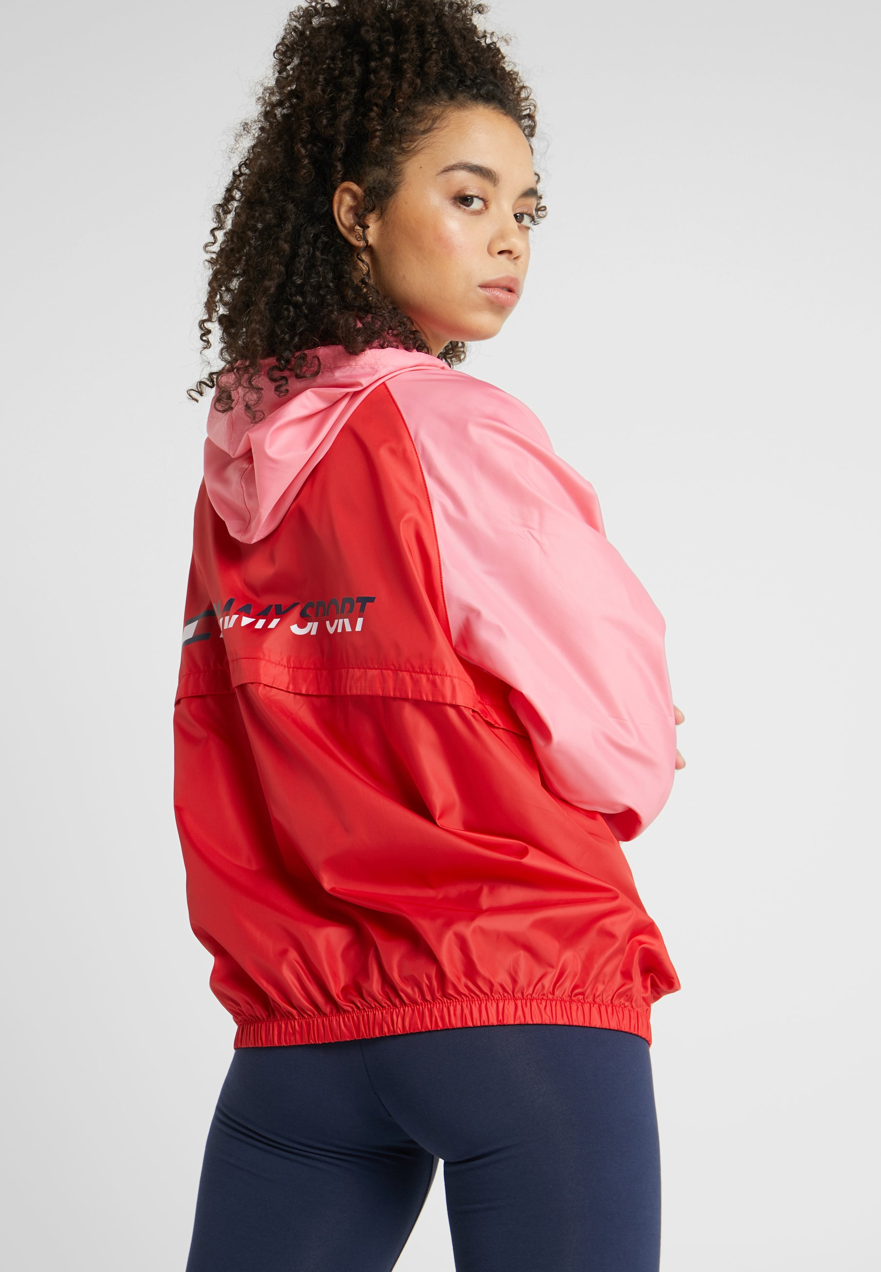 Blocked Red With Sport LogoVeste Tommy Coupe vent kXOZiPu