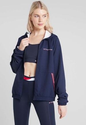 REVERSIBLE JACKET WITH HOOD - Giacca sportiva - blue