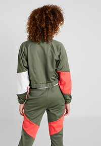 Tommy Sport - BLOCKED JACKET - Training jacket - green - 2
