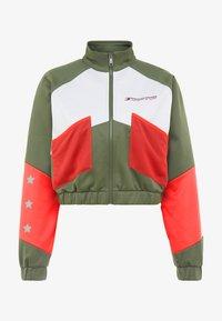 Tommy Sport - BLOCKED JACKET - Training jacket - green - 5