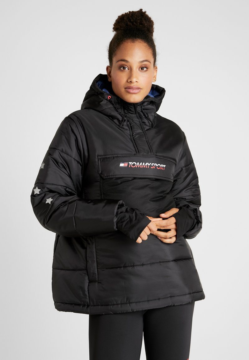 Tommy Sport - BLOCK INSULATION JACKET - Zimní bunda - black