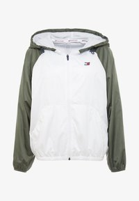 Tommy Sport - LINED WITH BACK LOGO - Veste coupe-vent - white - 3