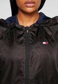 Tommy Sport - LINED WITH BACK LOGO - Veste coupe-vent - black - 5