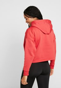 Tommy Sport - CROPPED HOODY - Huppari - red - 2
