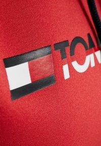 Tommy Sport - CROPPED HOODY - Hoodie - red - 5