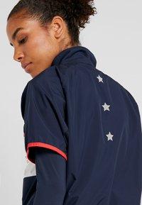 Tommy Sport - BLOCKED STARS ZIP SHELL - T-shirt à manches longues - blue - 4