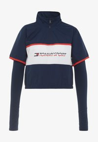 Tommy Sport - BLOCKED STARS ZIP SHELL - T-shirt à manches longues - blue - 3