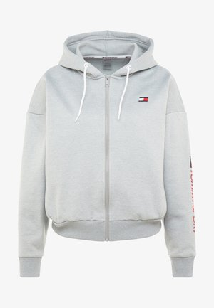 ZIP UP HOODY - Fleecejas - grey