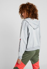 Tommy Sport - ZIP UP HOODY - Fleecejas - grey - 2