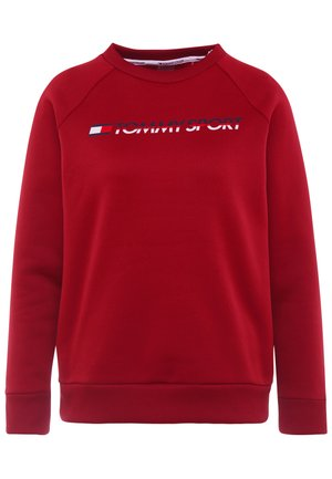 CREW NECK - Mikina - red