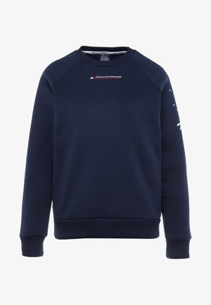 GRAPHIC CREW - Sweatshirt - blue