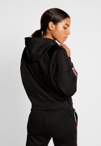 Tommy Sport - HOODY CROPPED WITH TAPE - Hoodie - black - 2