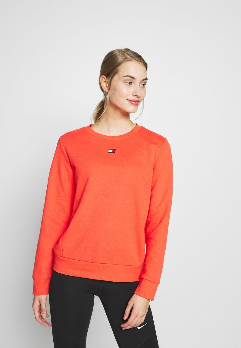 Tommy Sport - CREW  - Sweater - orange