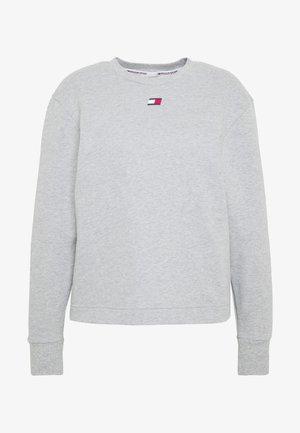OPEN BACK TAPE CREW - Sweater - grey