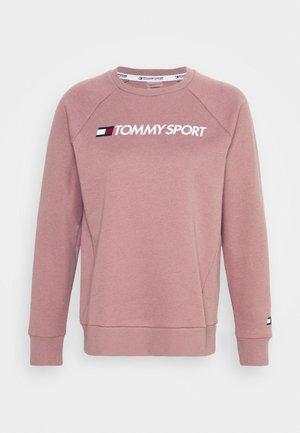 CREW LOGO - Sweatshirt - purple